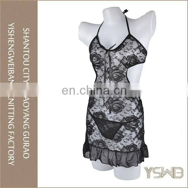 Various color rose lace lady sexy underwear custom cheap china lingerie