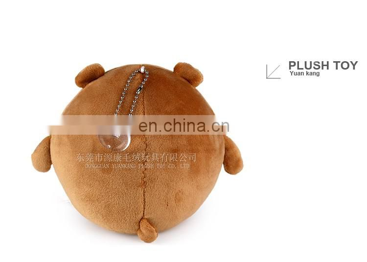 Top sell OEM quanlity bear plush animal keychain