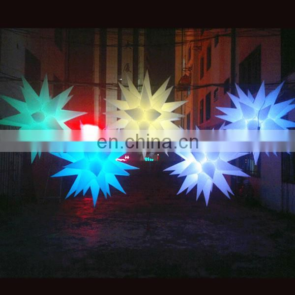 NB-ST3124 Many horns Cheap inflatable star for stage decoration