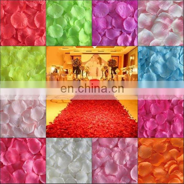 milky Rose Petals Wedding Chrismas Party Decorations