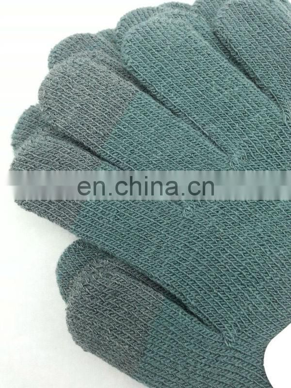 Wool touch screen gloves Polyester touchscreen glove high quality touch screen glovse