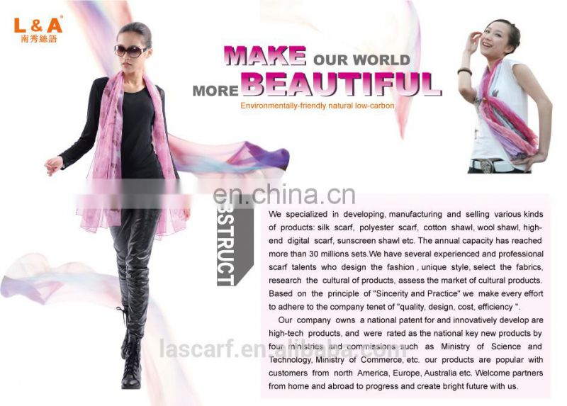 2015fashion style newest high quality silk georgette digital printing cappa(SP886BL)