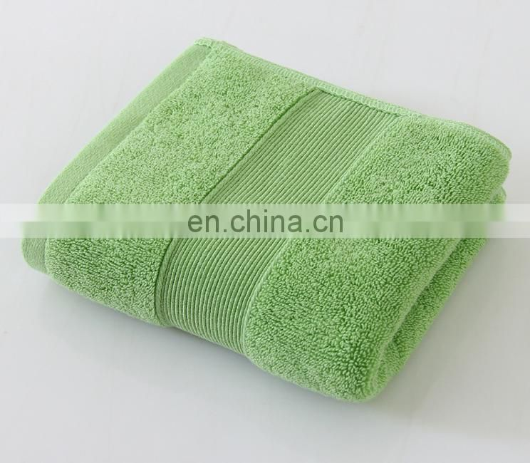 Wholesale panton color high quality 100% Cotton face Towel