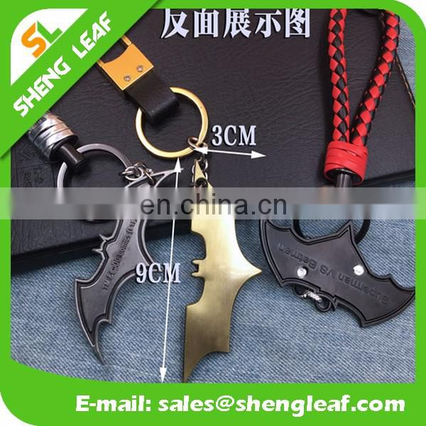 popular cool hero design metal keychain for men