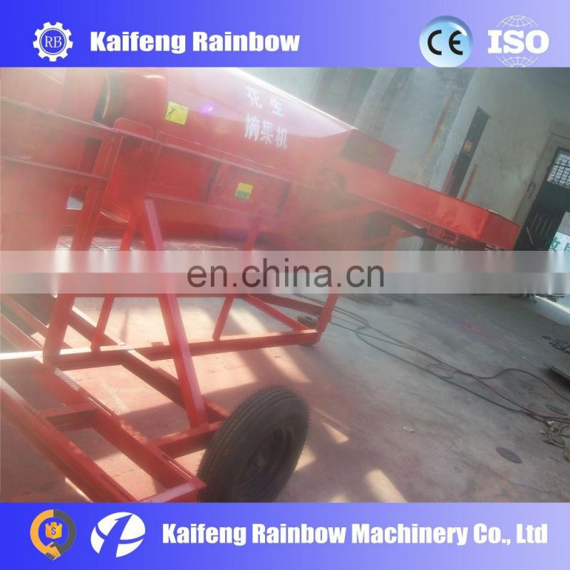 Multispindle electric peanuts picker equipment for farm