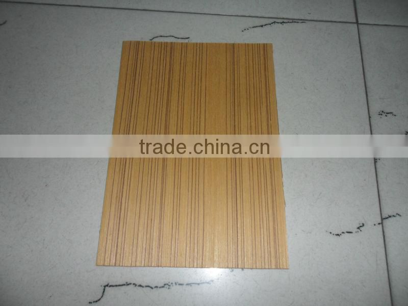 3.0mm poplar core glossy polyester plywood for furniture, phenolic resin polyeter board for india