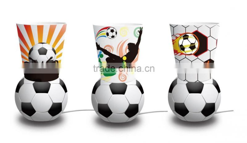 Professional custom inflatable world cup paper bag printing support 2014 brazil world cup