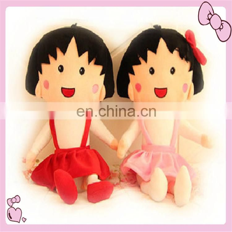 custom lovely plush dolls