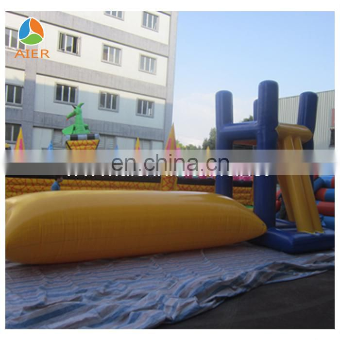 Water blob jump/inflatable water catapult blob