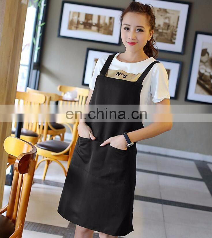 advertisement apron with custom logo printed for sale promotion MOQ from 100 pcs