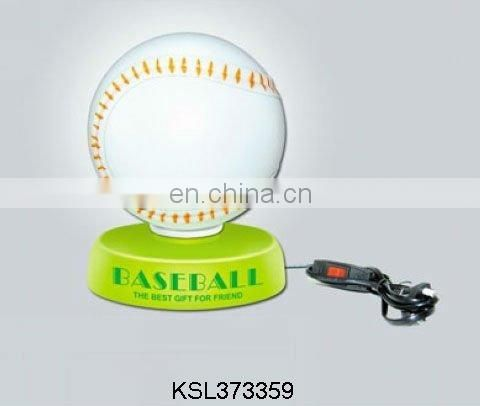 hot toys baseball table decorative lamp
