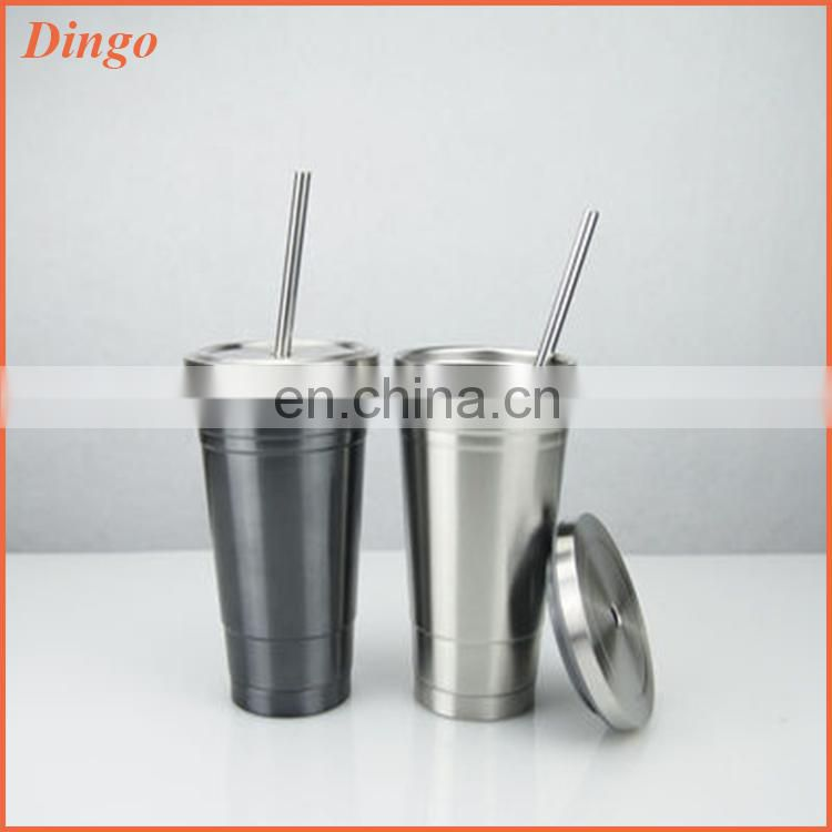 Food Grade Top Quality Promotion Car Drinking Water Stainless Steel Vacuum Clear Water Bottle