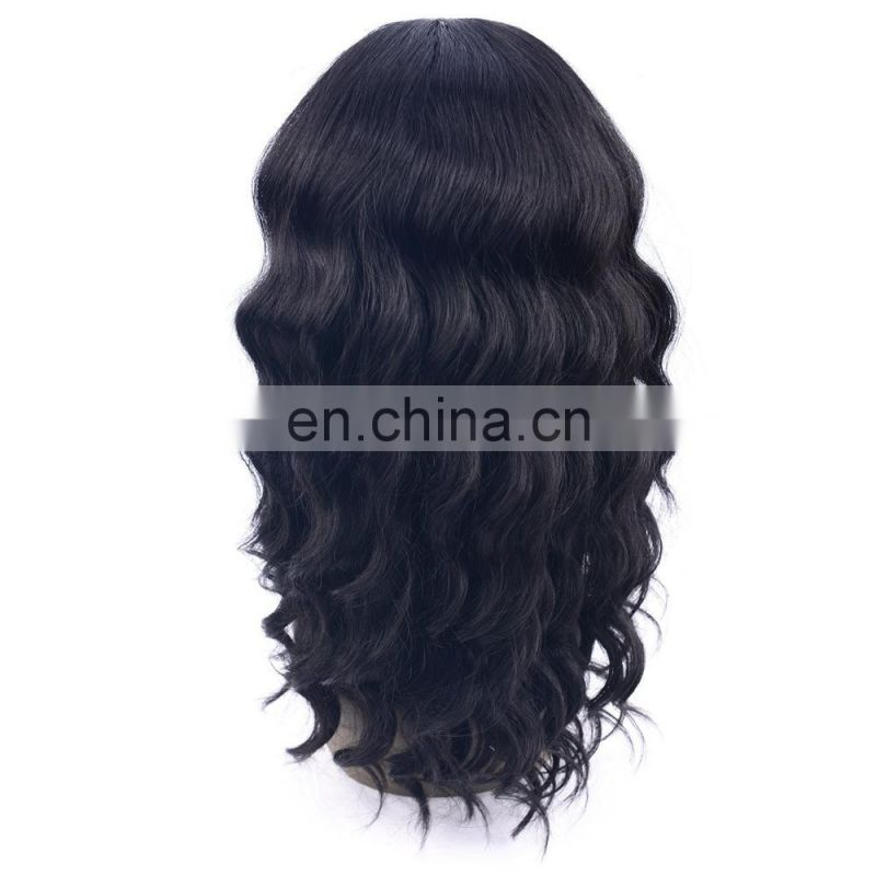 Ladystar lace frontal wig Loose Wave Hair Wig cheap price synthetic hair wig with hard lace in front and realistic forhead