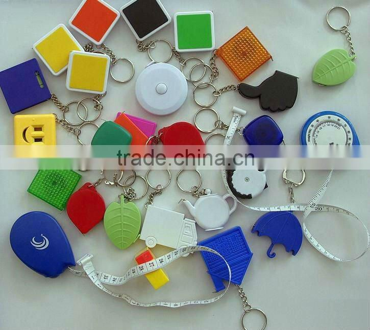 Promotional Mini Flower Tape Measure Keyring