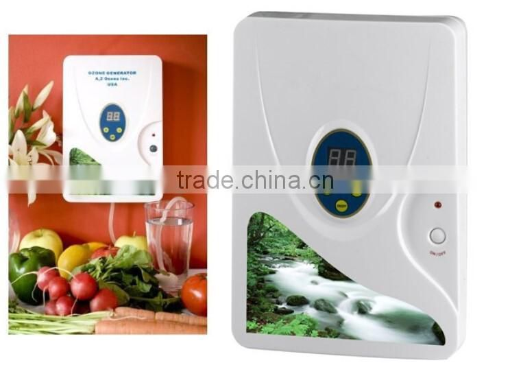 Portable Ozone Generator ozonizer Fruit Vegetables air water Sterilizer Air purifier 400mg/h 220V