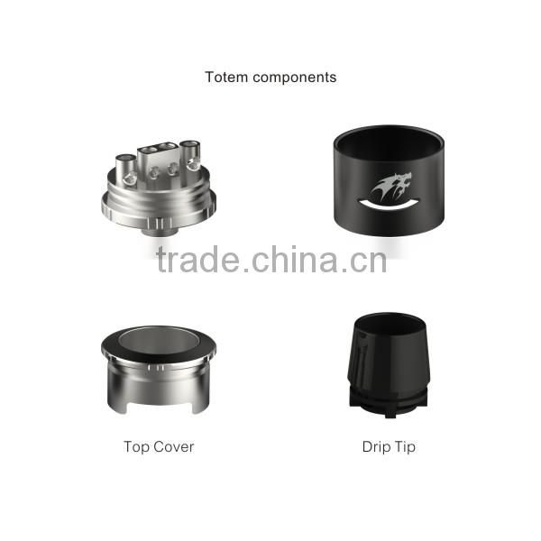 Alibaba wholesale newest high quality unique design Totem RDA better than Fat boy