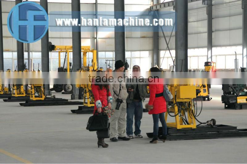 most popular on the market!! HF100YA2 DTH blasthole drilling machine