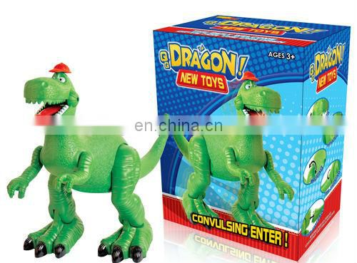 B/O fiery dragon toys for kids animatronic dinosaur