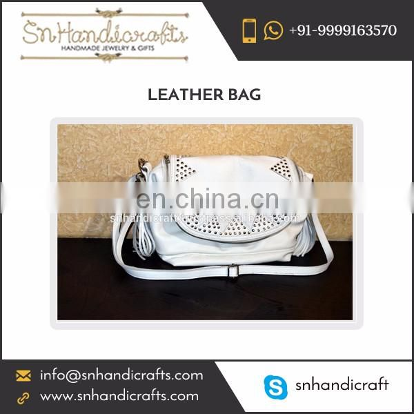 Latest Design Trendy Ladies Leather Fashion Hand Bag at Wholesale Price
