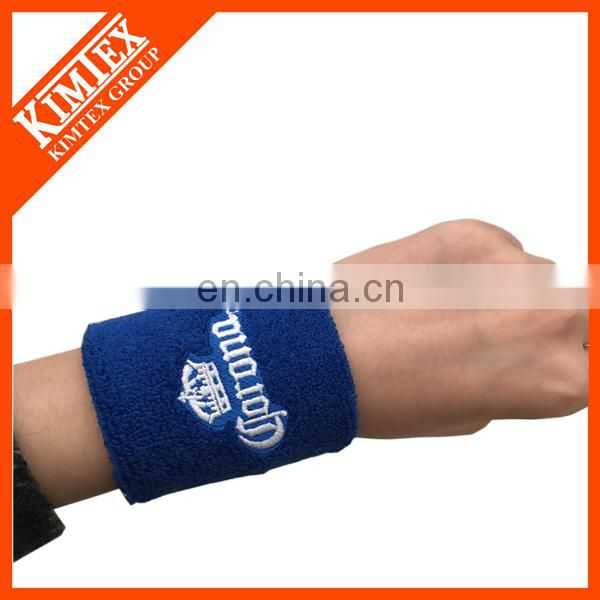 Sports cotton terry towelling wristband