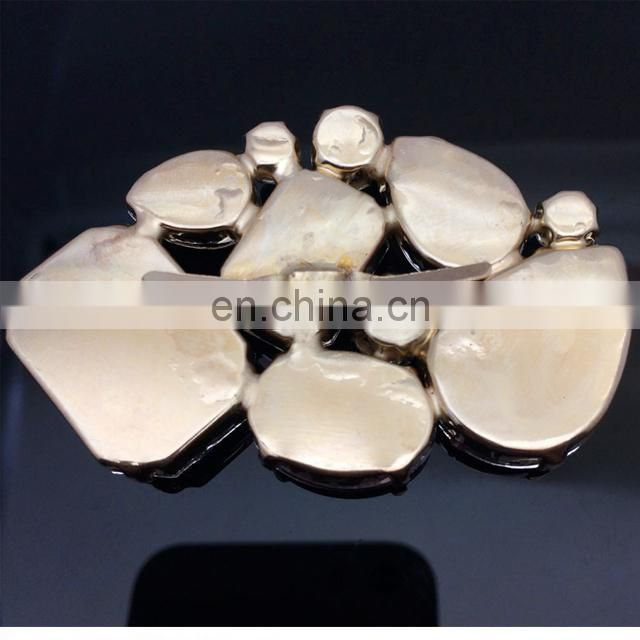 fashion cheap acrylic rhinestones Sandal Buckle Shoe Decoration rhinestone Footwear Accessories
