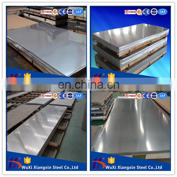China warehouses aisi 304l 2b stainless steel sheet 304 321 316