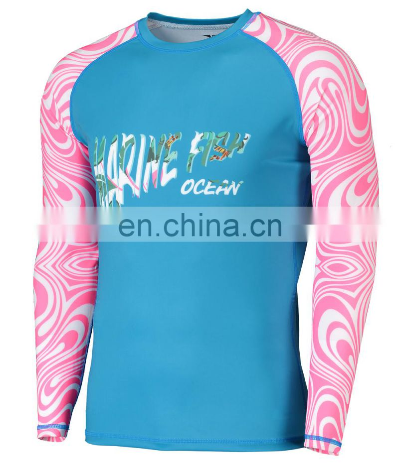 custom printed rash guard compress shirt mma rashuard