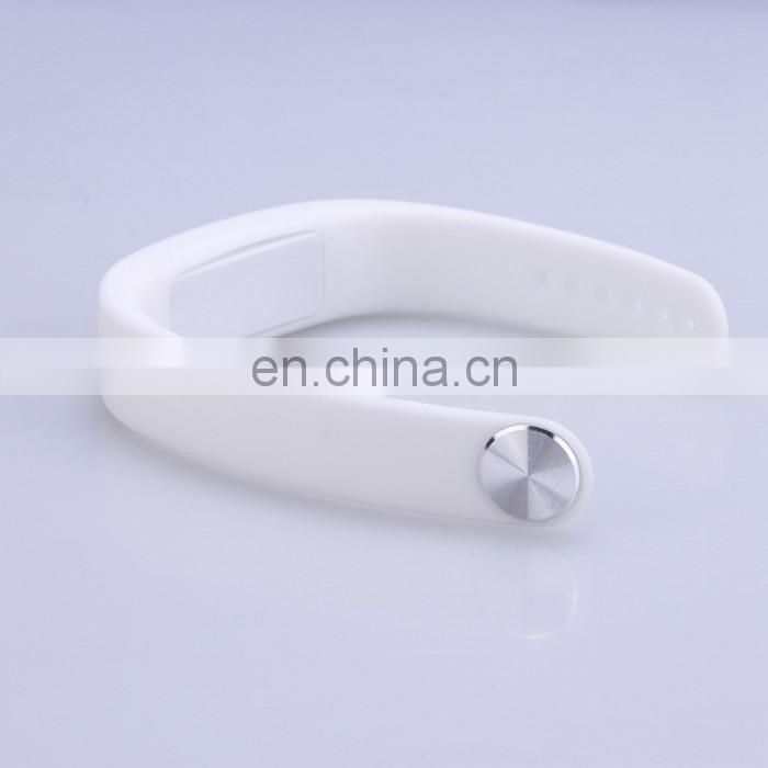 2016 Hottest Customized Logo Silicone Bracelet Soft Smart Bracelet Wristband Fitness