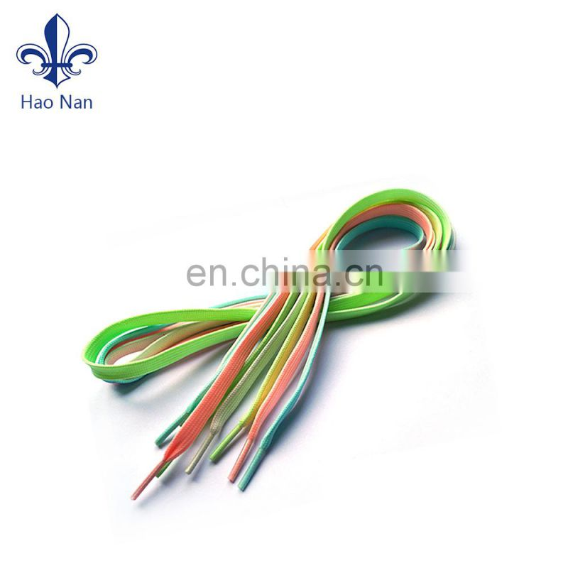 Factory wholesale shoelace for gym shoes with custom logo