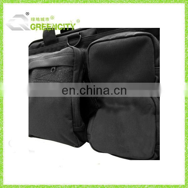 Greencity Black Tactical Briefcase