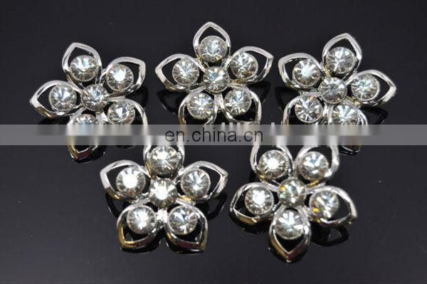 Bling hot sale colorful rhinestone clothing buttons