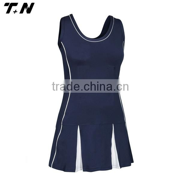 High quality sublimation custom cheap netball dress