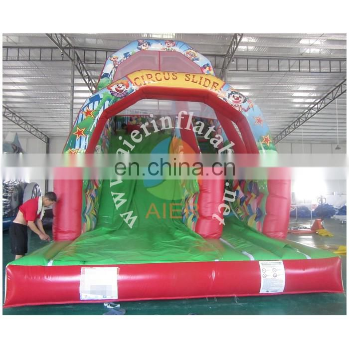 Digital printing Commercial Giant Inflatable Slide