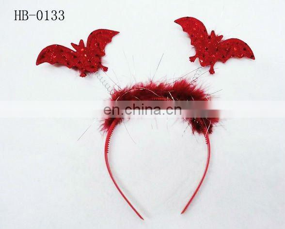 feather angel circle easter day headband