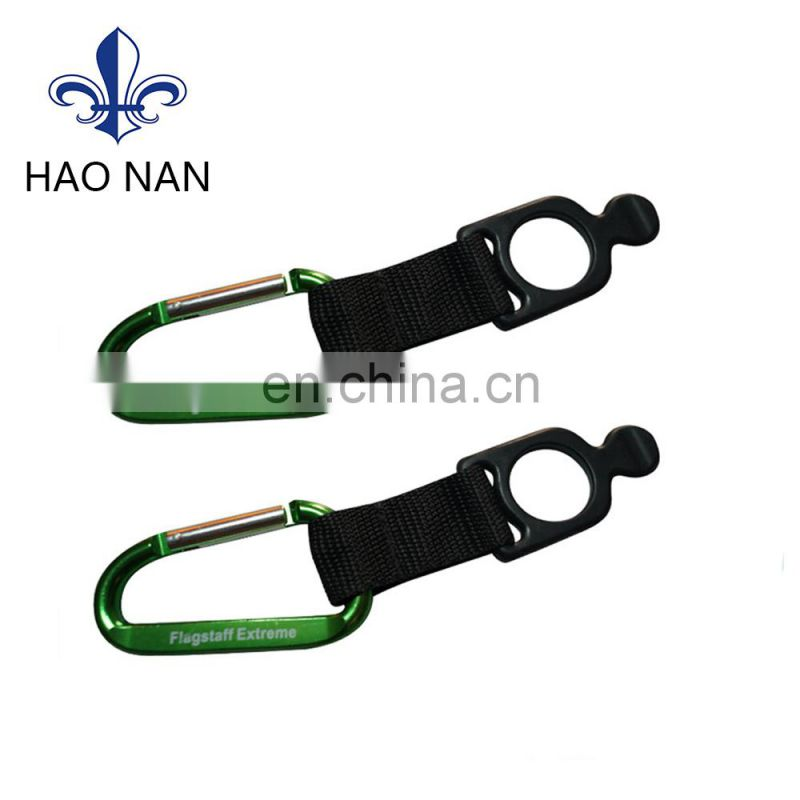 High Quality Aluminum Carabiner with keychain