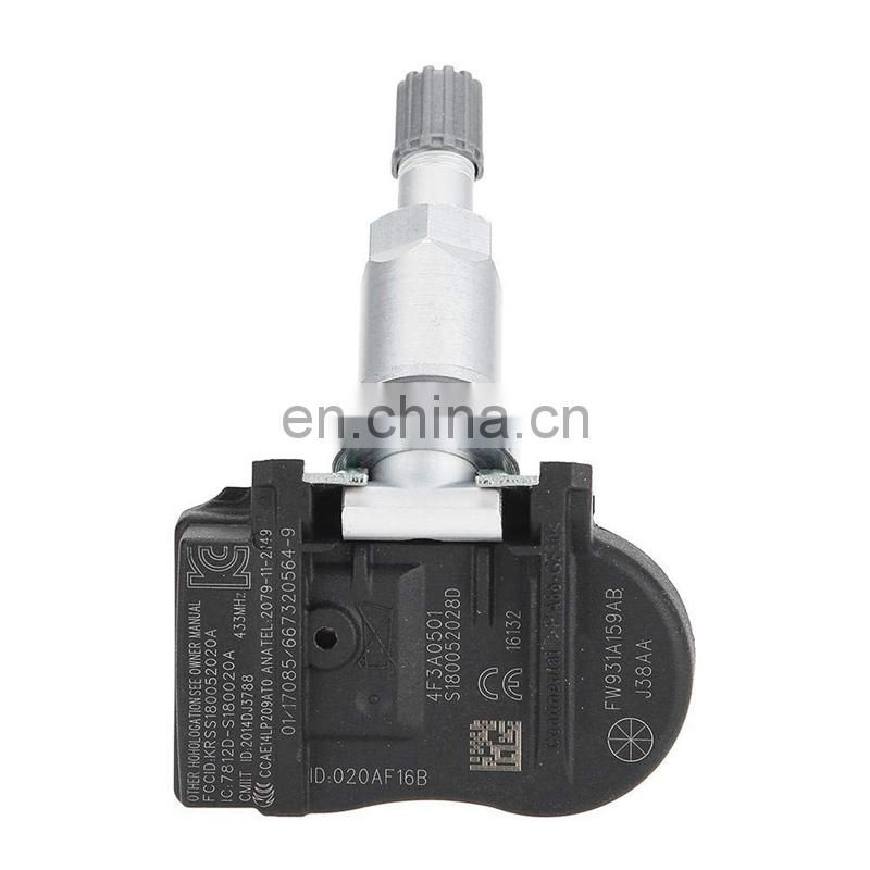 Car Tire Pressure Sensor Monitor Sensor Fit for Jaguar X-Type XE XF XJ XK FW931A159AB, FW93-1A159-AB