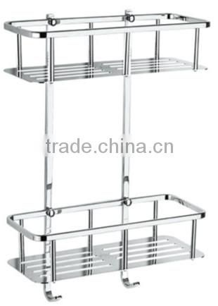 Stainless steel bath shelf, stainless steel single tier rack, 735