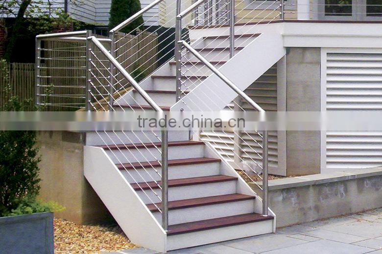 ... Stainless Steel Exterior Handrail Lowes Balustrades ...