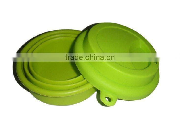 Hot! Heat Stable Silicone Collapsible Cup
