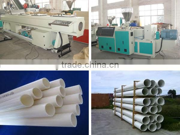 pvc conduit pipe machine manufacturer