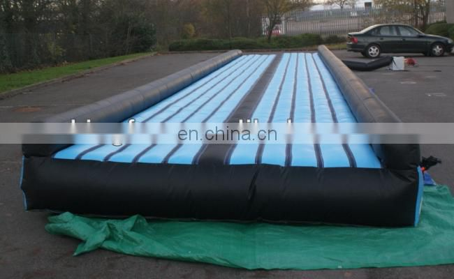 Commercial use inflatable tumble track for sports