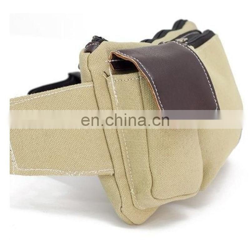 Nrand cheap canvas waist bag for promo