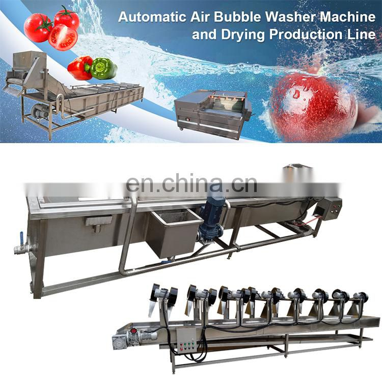 washing machine vegetables vegetable cleaning machine fruit washing line
