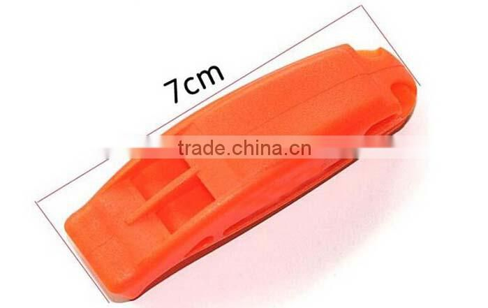 whistle Lifesaving Dual whistle Spot goods emergency whistle rescue