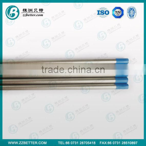 WL20 Tungsten electrode for welding steel and stainless steel on DC or AC
