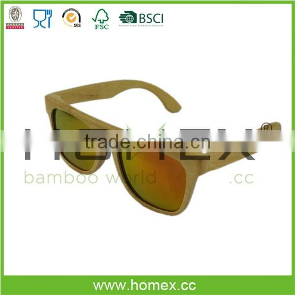 2017 Summer Fashion Sunglasses/Custom Sunglasses/bamboo and wooden sunglasses/Homex