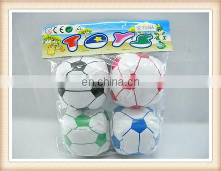4inch kids stuff toy football soccer ball toy