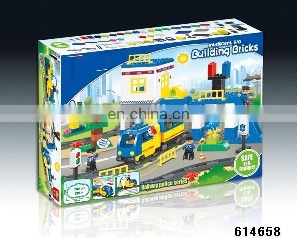 Funny bricks military vehicles Building block educational toys mini racing toys