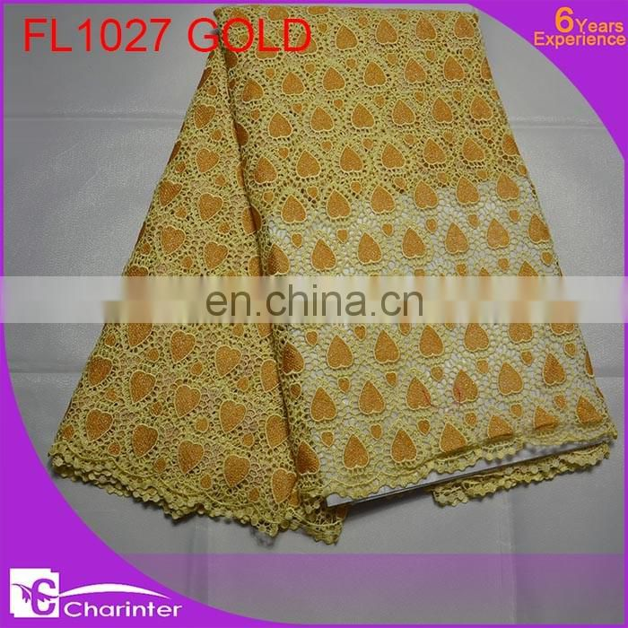 free shipping african lace fabric cord lace fabric guipure lace fabric