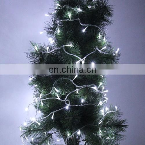 gift 10m 80 LED White Light Battery String Decoration Light for Christmas Party or christmas lighting